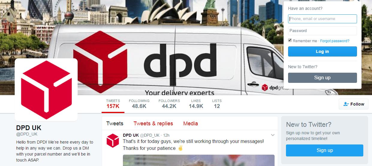 DPD Twitter