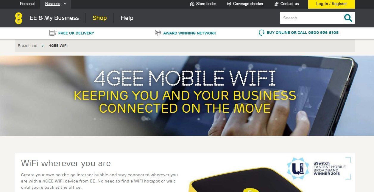 EE UK customer service phone number