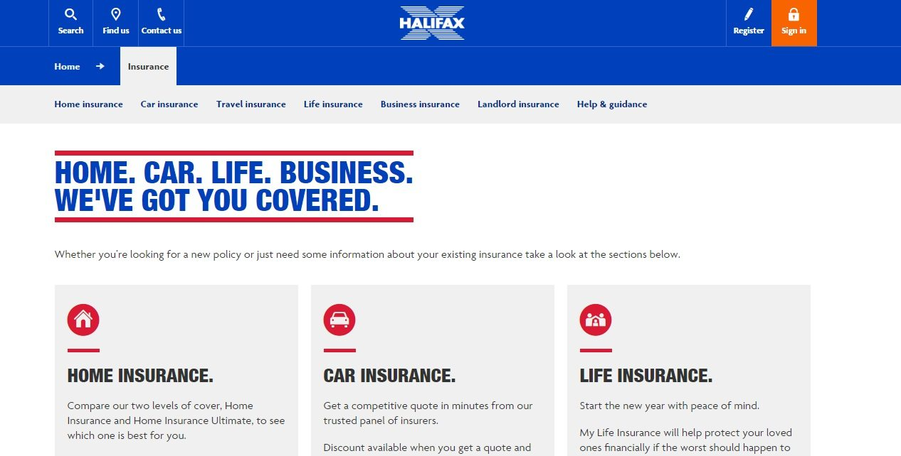 Halifax Car Insurance Phone Number