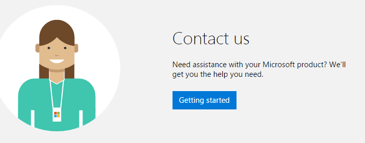 Microsoft XBOX customer live support