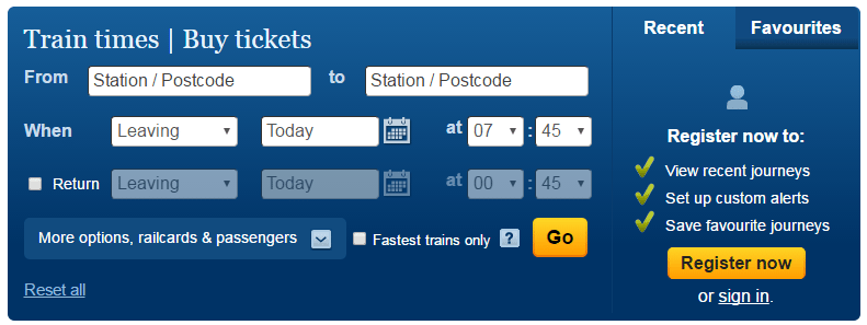 National Rail Ticketing