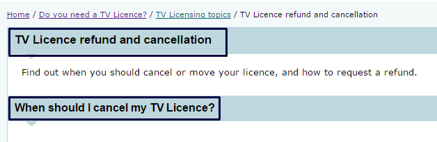 Tv License customer service numbers UK