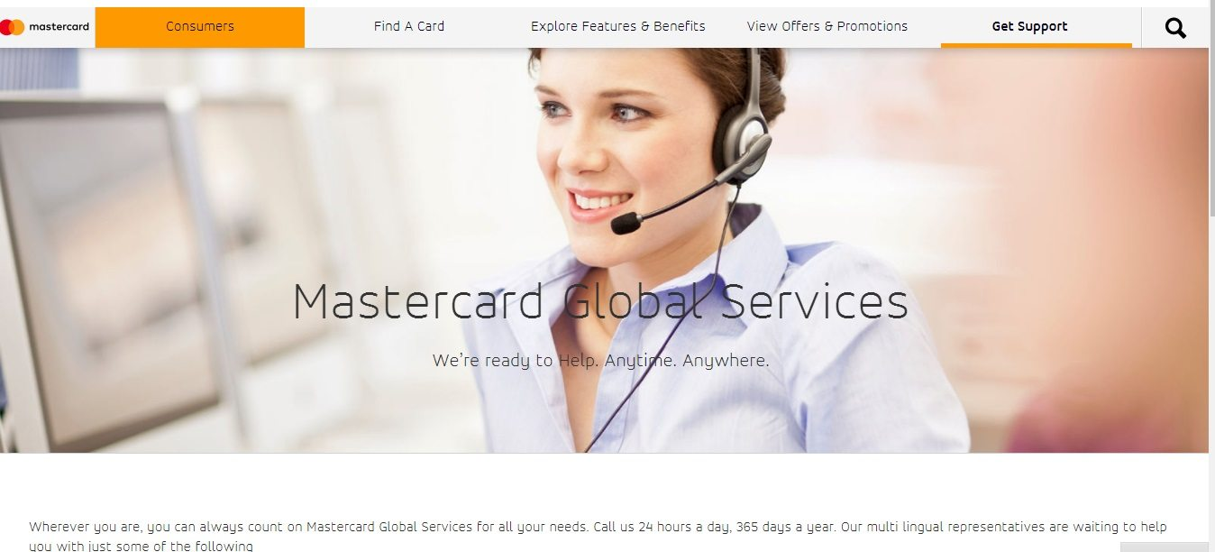 Mastercard Customer Service Numbers
