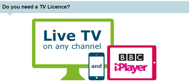 TV License contact numbers UK