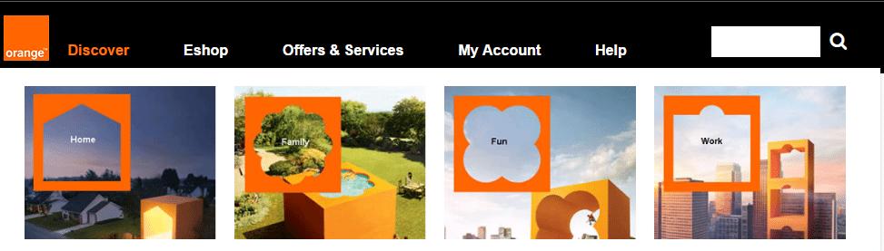 Orange customer services number