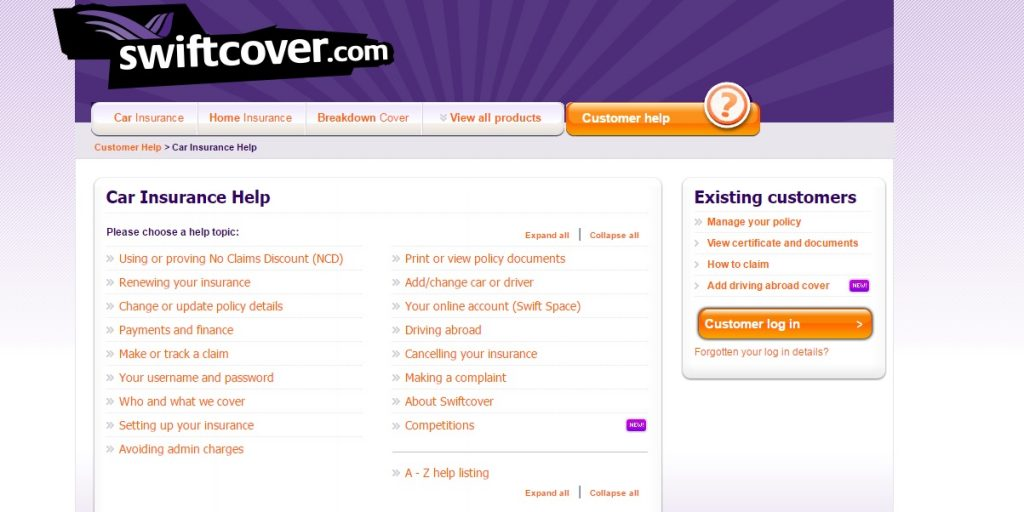 Swiftcover Customer Service number