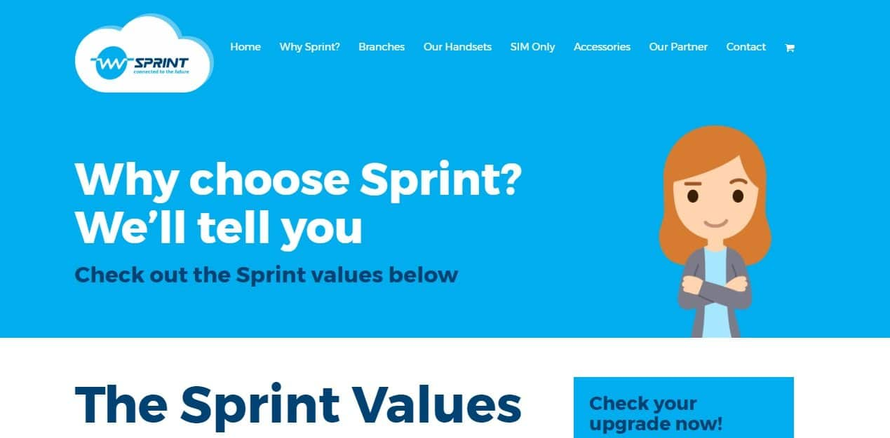 sprint customer service number
