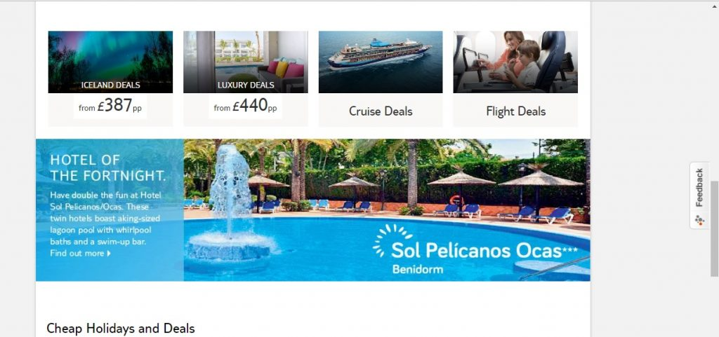 Thomson holidays booking phone number