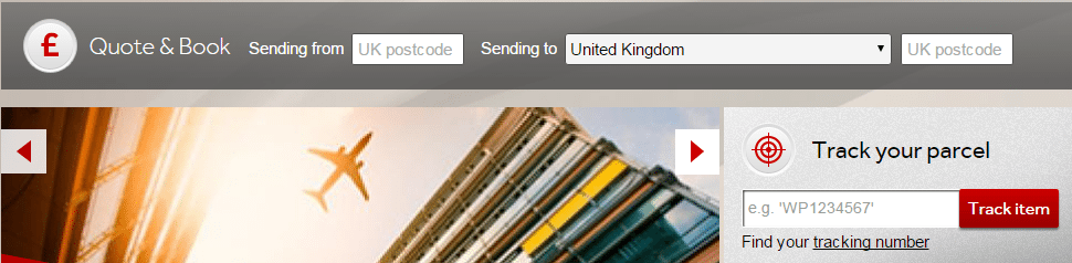 Parcelforce telephone numbers UK