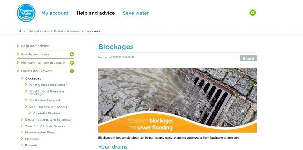 thames water contact helpline