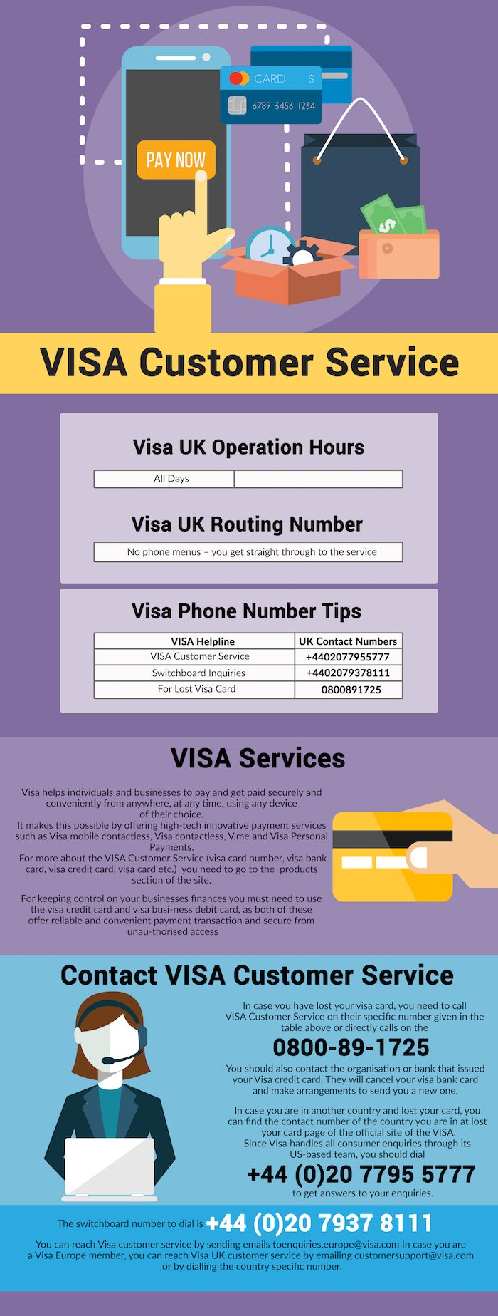 You can contact UK Visas and Immigration from inside or outside the UK. Contact centre staff cannot give you advice about your personal circumstances.