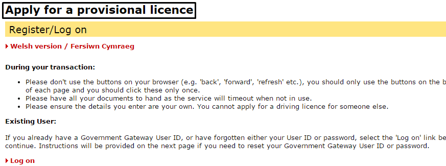 DVLA Customer Service numbers
