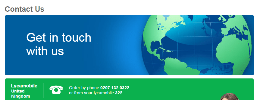 Lycamobile customer care number UK