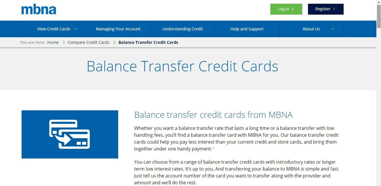 MBNA Bank Service number