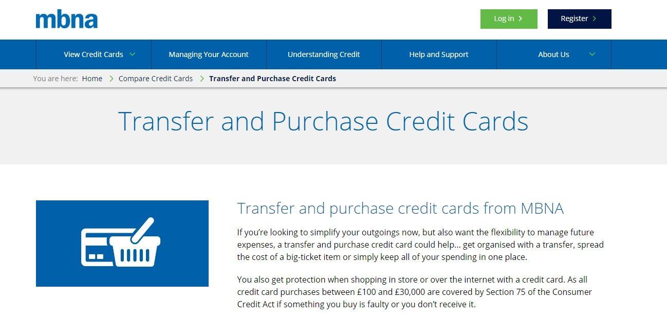 MBNA Bank Service helpline