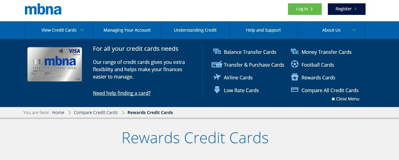 MBNA Bank Customer Service