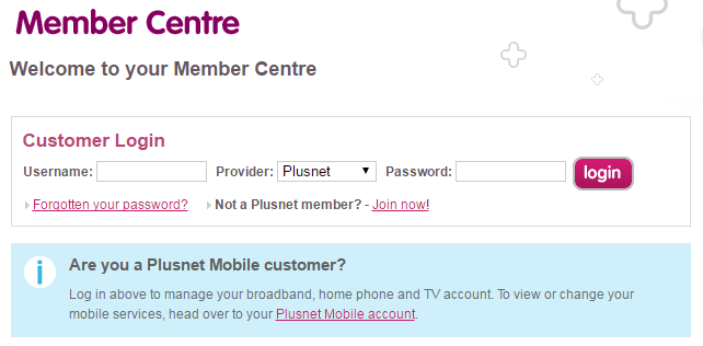 Plusnet customer care numbers UK