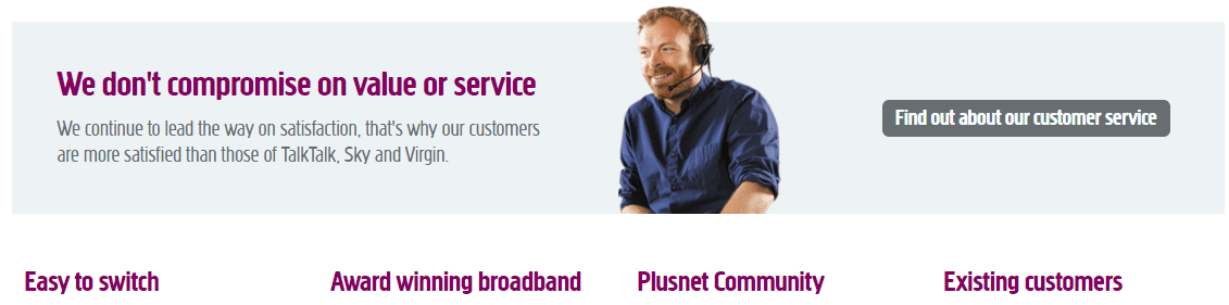 Plusnet helpline numbers UK