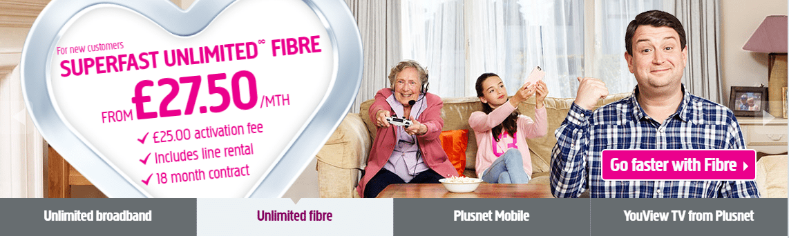 Plusnet customer service numbers UK