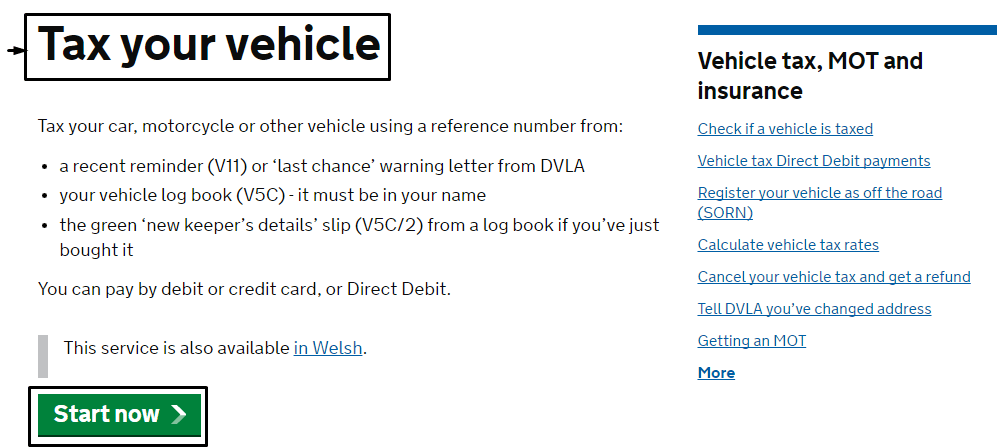 DVLA helpline numbers UK