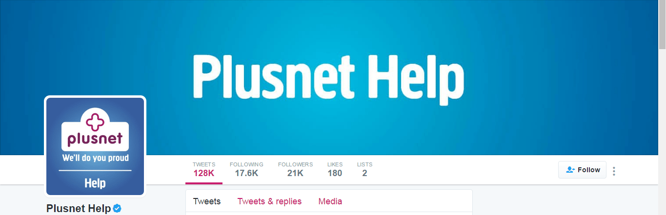 Plusnet customer care UK
