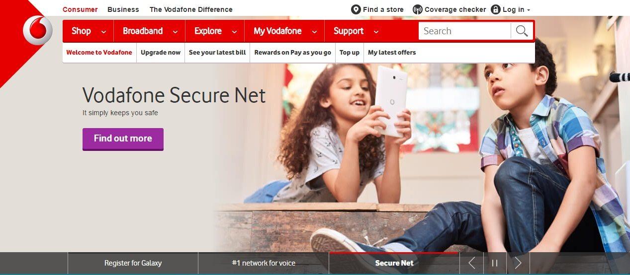Vodafone Customer Service number