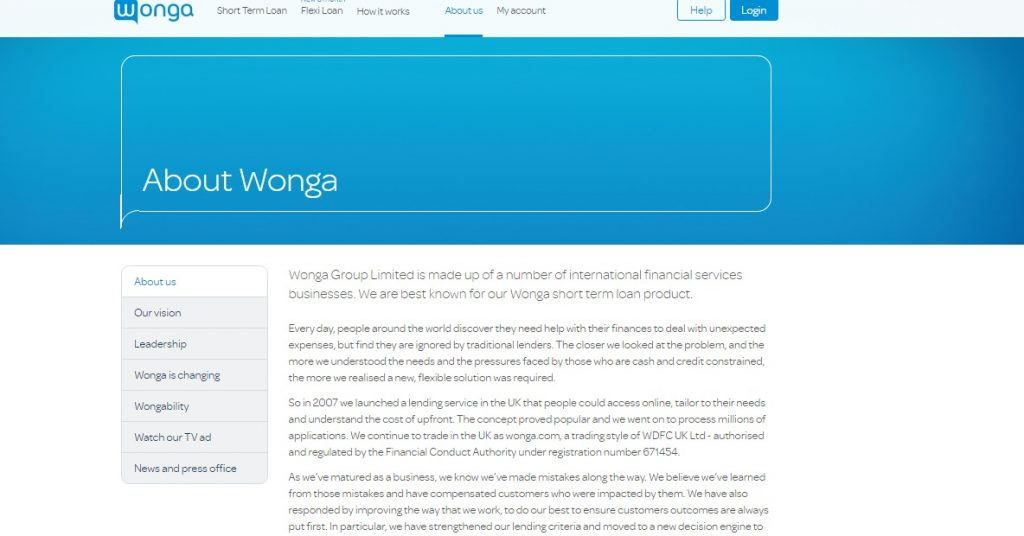 Wonga Customer Service number